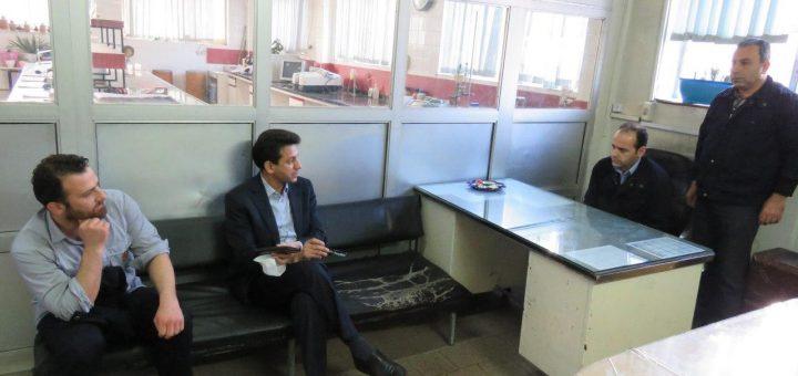 مدیرعامل و پرسنل اول عید
