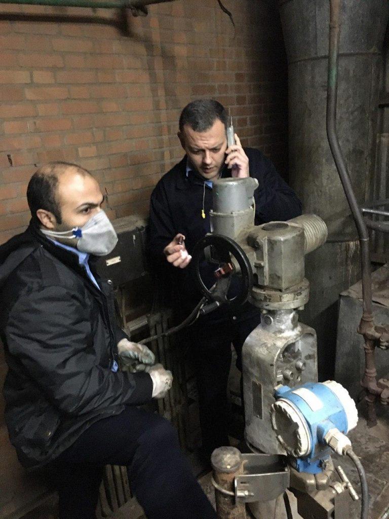 تنظیم کنترل ولو آب تقذیه بویلر